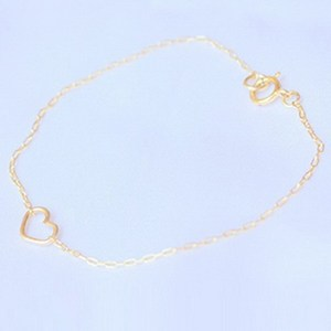 Super quality promotional 18k gold plated link chain bracelets