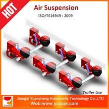 Air suspension system for American trailer semi-trailer
