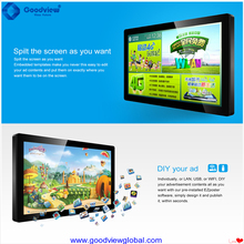 49 inch android lcd digital signage for market LG screen
