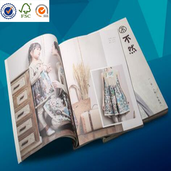 factory supply custom magazine/book/hard cover book printing