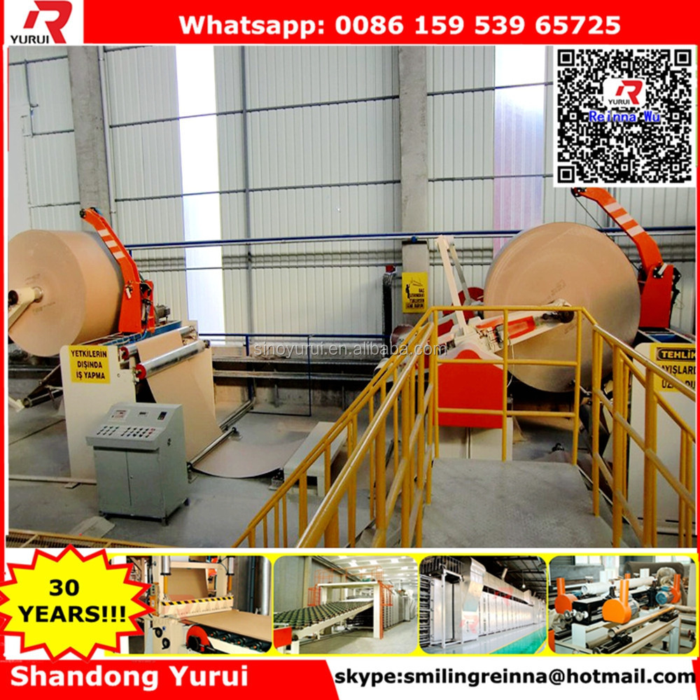 knauf paper faced plaster board/gypsum plasterboard machine line/ water-proof gypsum ceiling board production line