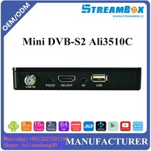 customrized OPEN SKY STAR TRACK mini DVB-S2 MPEG4 h.265 HD mini hd box receiver