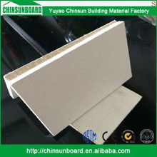 CE certificated Tested Waterproof Finely Processed Use fireproof mgo board/magnesium oxide sheet
