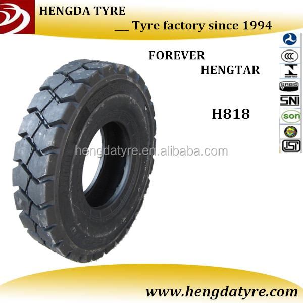 QingDao forklift tire for sale 600-9 with good cutting and wear resistance