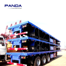PANDA customize 2-3 Axles Wheel Chassis 40 FT Containers Trailer For Sale