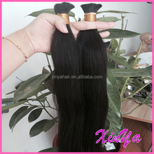 Wholesale price Virgin Human Hair Totally Unprocessed mongolian braiding bulk hair