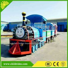 funfair playground attractive fabulous electric tourist train, electric thomas train for sale