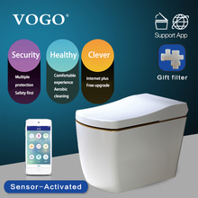 VOGO S310 one piece electric intelligent toilet with warm seat cover
