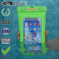 mobile pvc waterproof phone bag/case/pouch cover