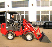 small hydrostatic 0.6t ZL06 wheel loader