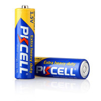 Top Selling Zinc Carbon AA Battery 1.5V Non Rechargeable Um3 AA Battery R6P Heavy Duty Dry Cell
