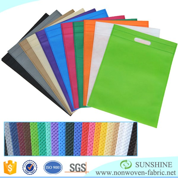 non woven bags manufacturer upholstery fabric for drawstring backpack