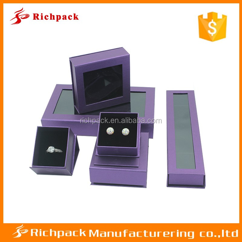 New design paper box for jewelry packaging/ jewelry paper necklace packaging box