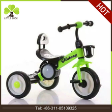 Newest design baby trikes training baby bike toy 2017 new model plastic tricycle kids bike