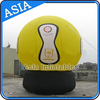 Custom Yellow Inflatable Advertising PVC Ground Balloons Fall On The Planet