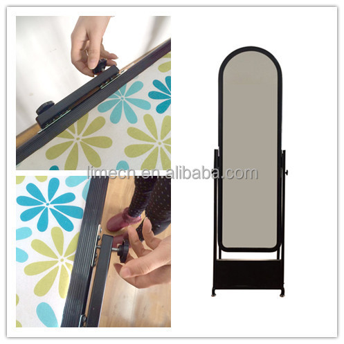 Portable Style and Iron Tube Stand Material square ironing board/stainless steel bench