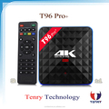 Moderate price Android 6.0 Marshmallow T96 pro+ Amlogic S912 TV Box