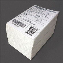 500 Half Sheet Self Adhesive Shipping Labels for Laser Printers and Inkjet Printers Blank White Labels
