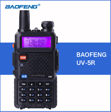 BAOFENG UV-5R Two Way Radio VHF/UHF Walkie Talkie With Ptt Ani Id Code