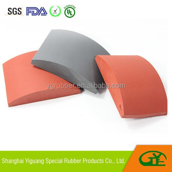 Sublimation silicone foam pad for hat