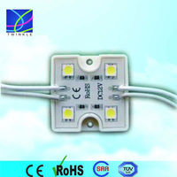 0.96w 17-18lm/led house lighting square shape IP65 4leds waterproof led module