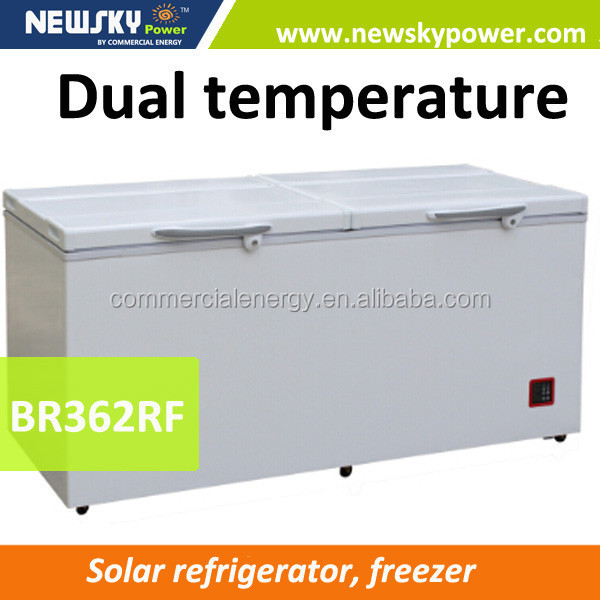 alibaba china door seals refrigerator van 433L solar freezer