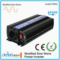 DC-AC 12v 220v solar power inverter,600 watt power inverter