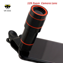 2017 Most Popular Cheap 12X Zoom Phone Lens Optical Telescope Camera Lens For Mobile Phone