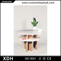 Modern style plywood tea table mdf multifunction coffee table