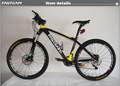 26er complete carbon bike mountain bicycle with XT group