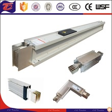 Low Voltage Copper Aluminum Power Distribution Sandwich busbar trunking system/compact busduct