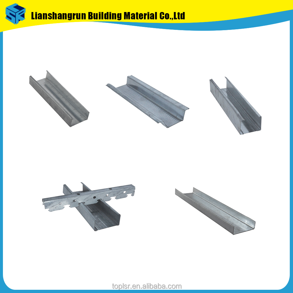 Hot Dipped Galvanized Steel Frame For Drywall Profile
