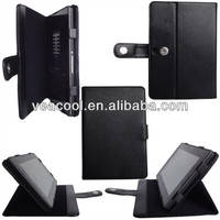 Fashionable Lichee Pattern PU leather case skin for blackberry playbook case