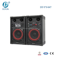 10 inch portable mini stage woofer active speaker karaoke stage speaker with bluetooth