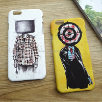 China supplier fashion diy design OEM IMD IML custom printing mobile phone case for iphone 6 hard pc cover for iphone 7 plus