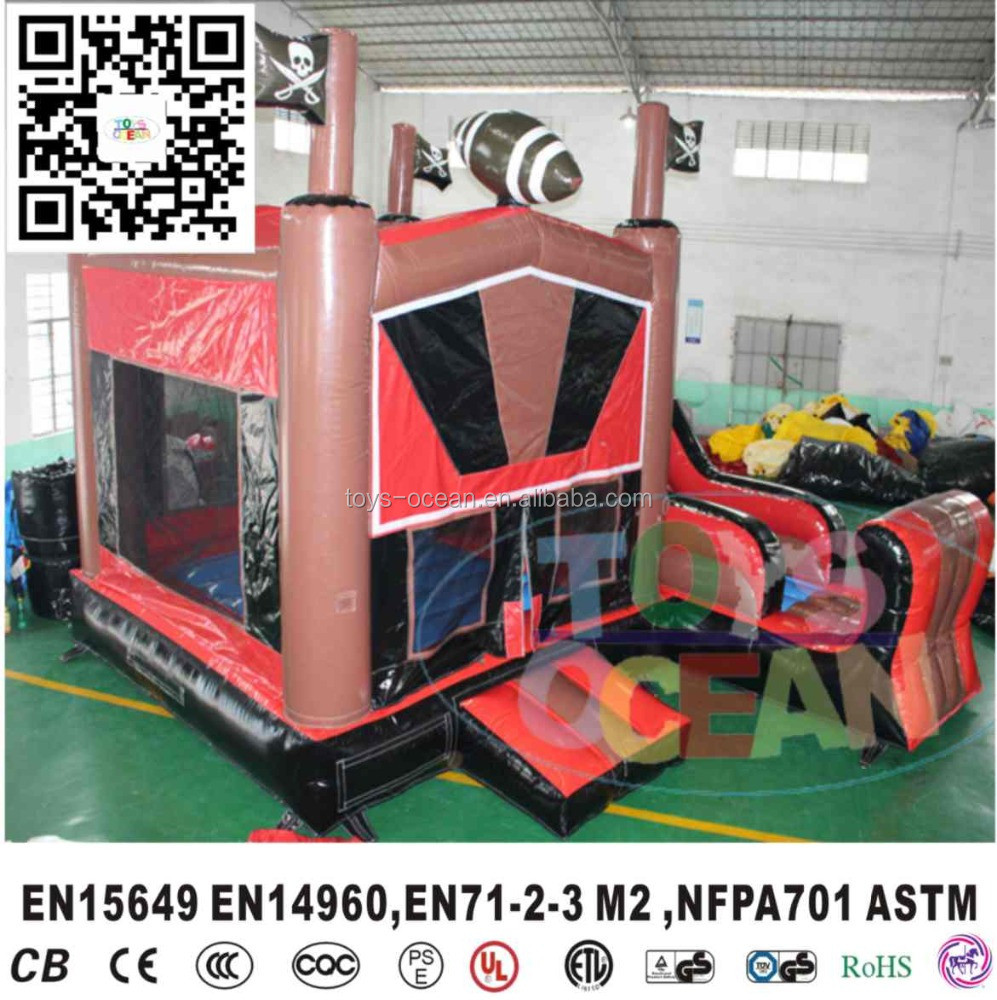 inflatable pirate jumping bouncers / Pirate ship Inflatable bouncer / jumper castle house for kids