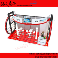 portable aluminum Trade Show Exhibition Display, custom trade show exhibition booth in China