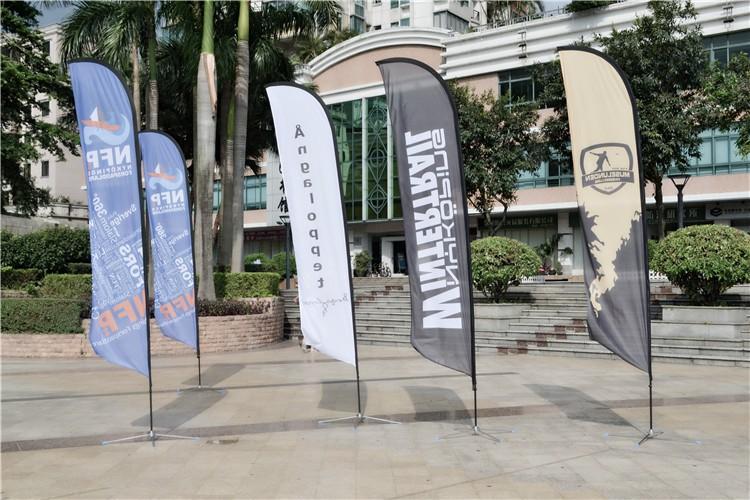 Promotional Custom Printed Outdoor Advertising Feather Flag,feather flag pole,swooper feather flag