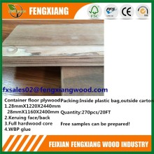 30mm plywood flooring for trailers