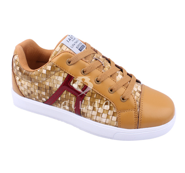 Fake woven design new arrival women shoes