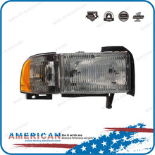Replacement parts head light/head lamp OE 55076748AD for RAM 1500/2500/3500 models after-market