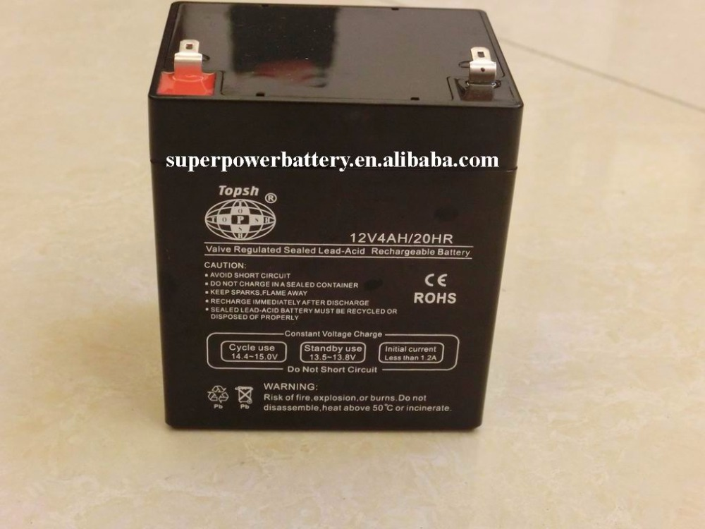 ELECTRIC TOY CAR BATTERY 12V4AH