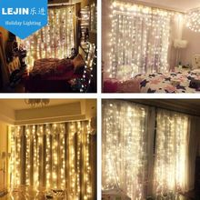 pvc CE GS ROHS led party lights string light curtain light