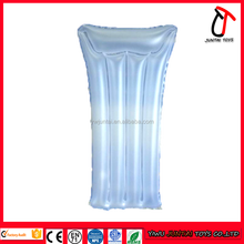 transparent color kids inflatable mini mattress for children