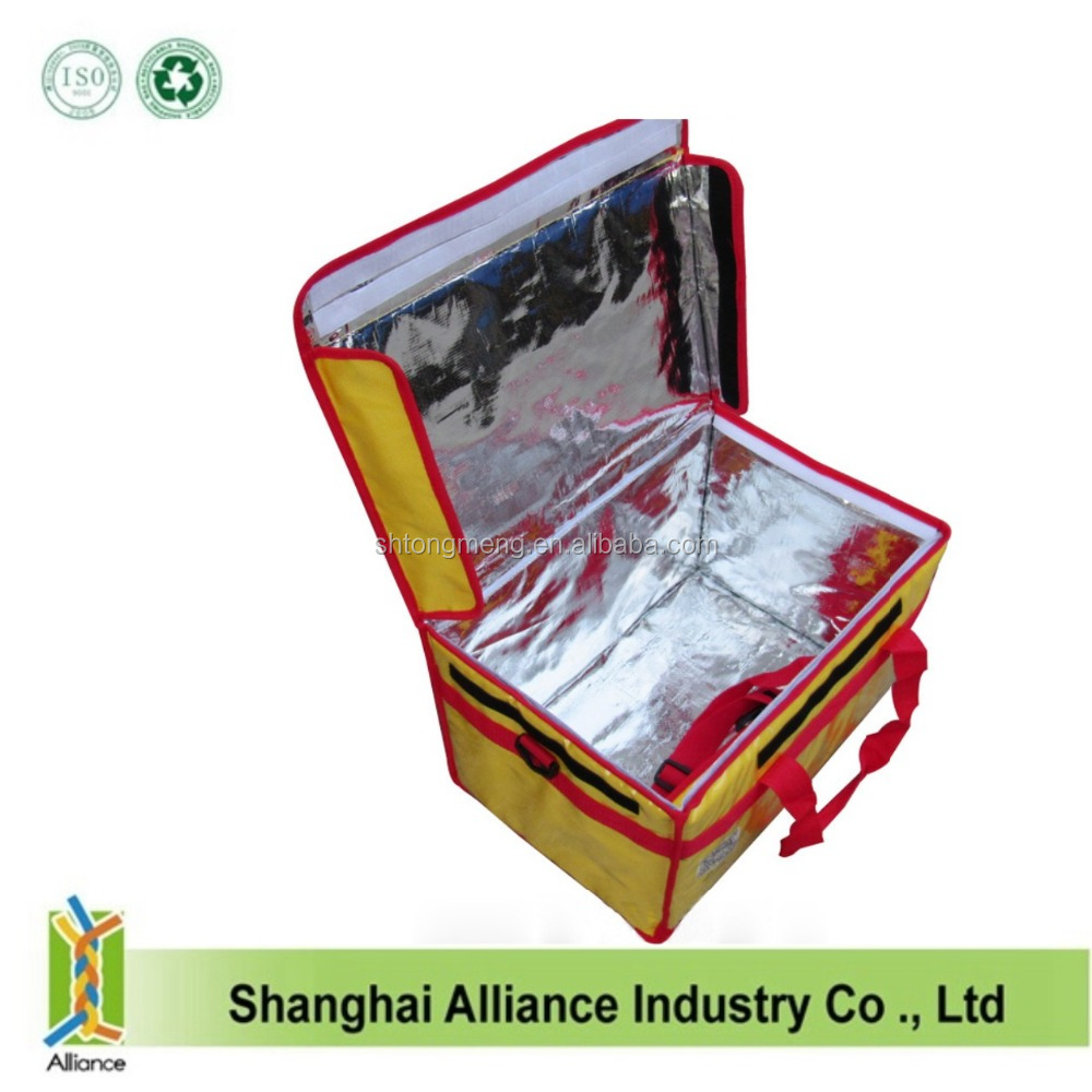 Food delivery cooler bag with water proof material