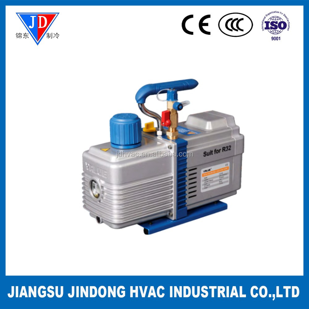 Dual stage vacuum pump for R32 exclusive use