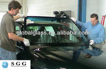 High quality auto glass repair of tempered glass from factory