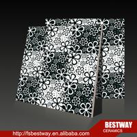 Deco Wall Tile Floor Tile Black and White art tile