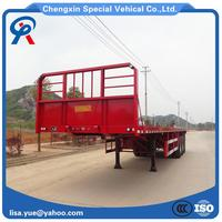 Factory Supply Container Flatbed Trailer With