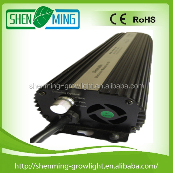 Manufacturer Fan Cooled 600W Electronic Ballast for metal halide lamp